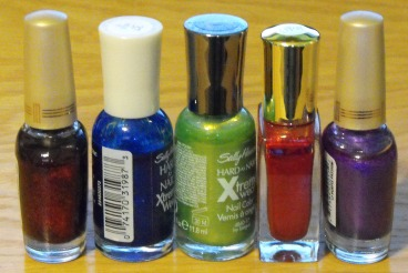 My new antagonist collects nail polish, not dolls.
