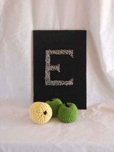 Crochet, like these pieces of fruit, is one of my favorite ways to recharge.