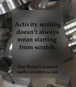 Activity Writing