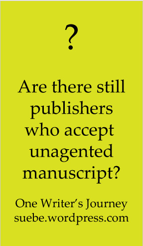 Childrens book publishers accepting unsolicited manuscripts