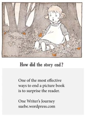Picture book endings