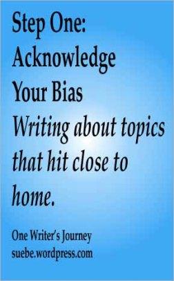 Acknowledge your bias