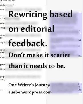 Rewriting based on feedback