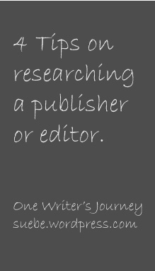 how to research a publisher or editor